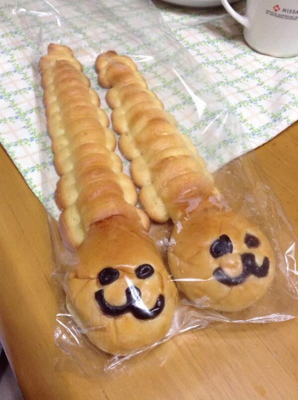 謎のキャラクターパン