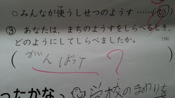 学校のテストの珍解答