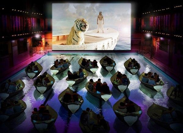 パリムービーシアター パリ 映画館 ユニーク 個性的