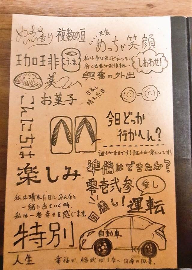 100円ショップ メモ帳 和訳