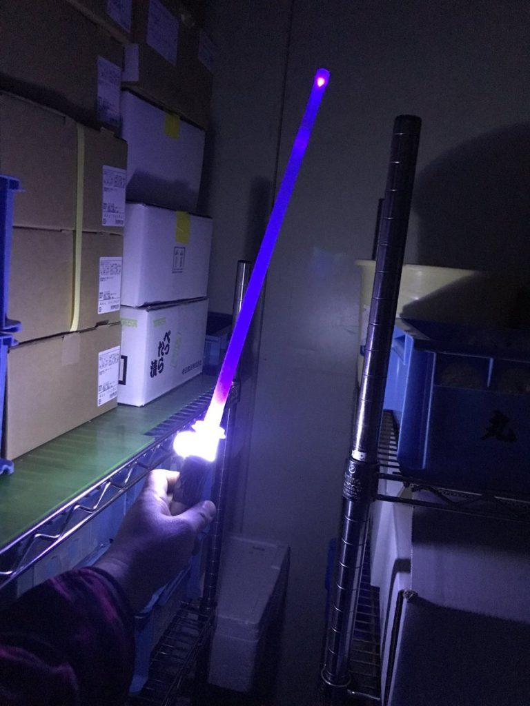 スターウォーズ ライトセイバー 百均 灯油ポンプ マグライト