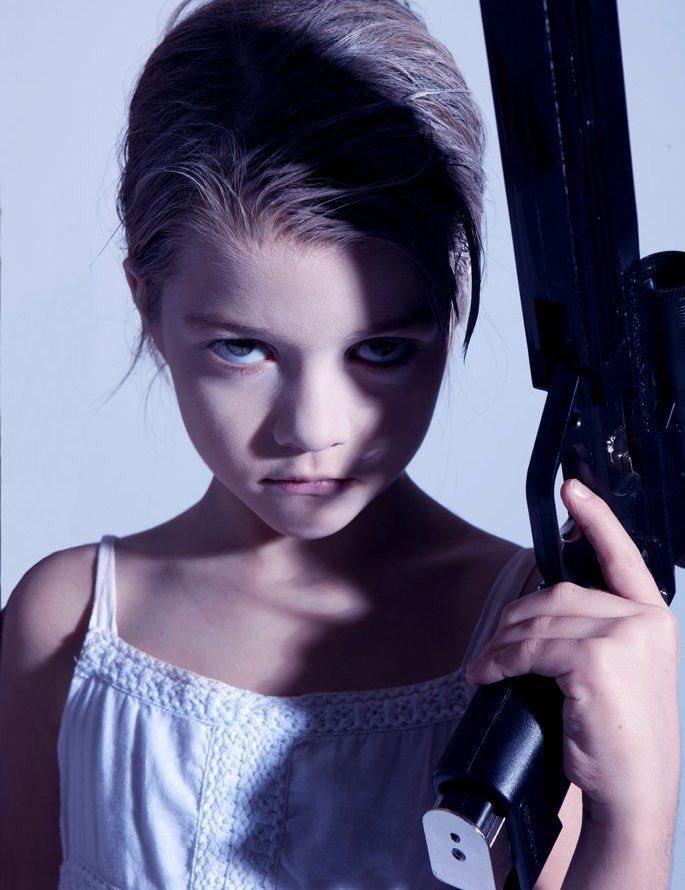 ゴットフリート・ヘルンヴァインの少女の絵