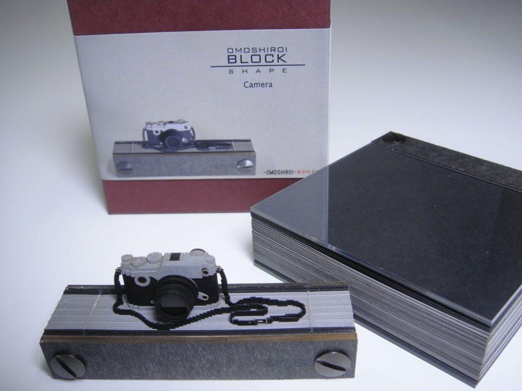 メモ書きすればするほどカメラになっていくメモ帳「OMOSHIROI BLOCK」が凄いと話題に