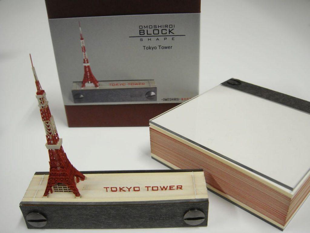メモ書きすればするほど東京タワーになっていくメモ帳「OMOSHIROI BLOCK」が凄いと話題に