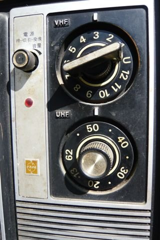 昔のテレビ