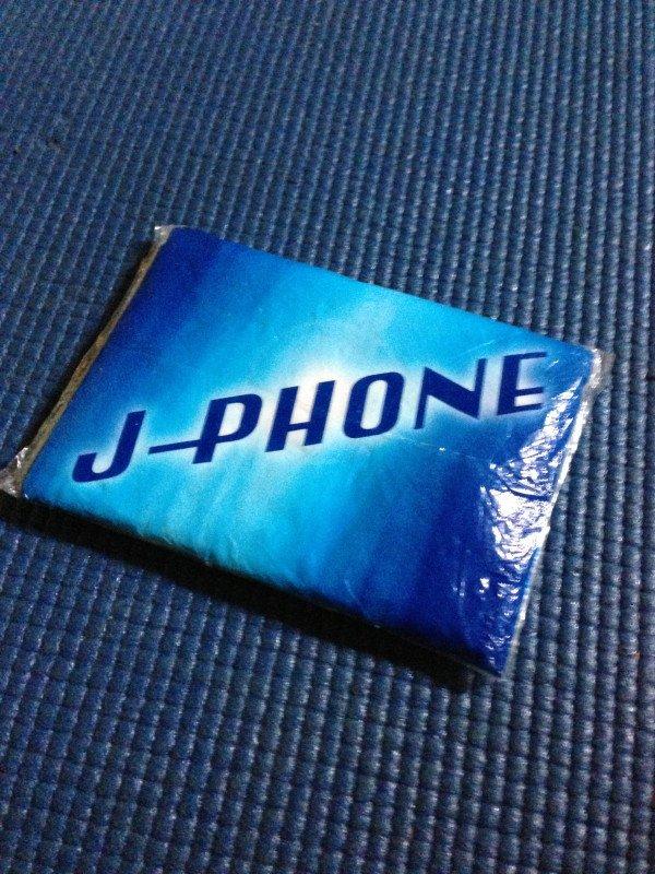 J-PHONEのティッシュ