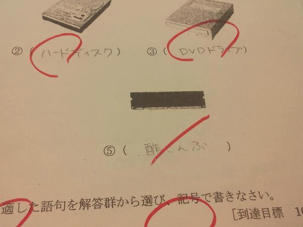 【爆笑】面白すぎる学校のテストの珍解答集 【面白い回答】