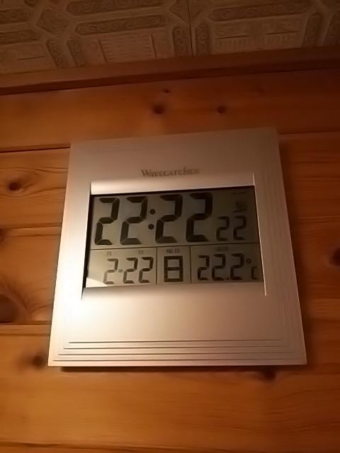 奇跡の瞬間を捉えた貴重な写真・画像まとめ:2月22日22時22分22秒22.2度になった時計