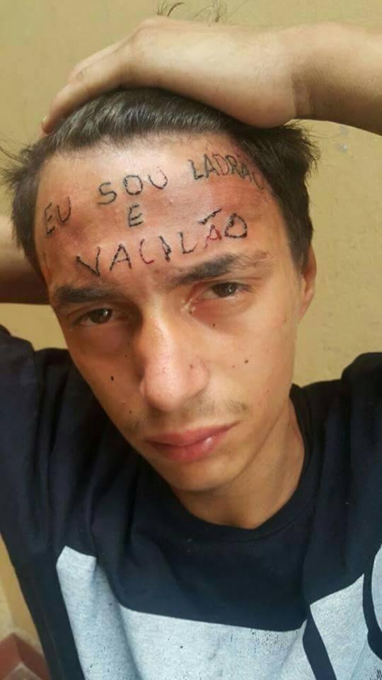 タトゥーアーティスト ブラジル 私は泥棒で負け犬