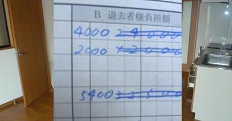 【無知ではむしりとられる世の中】退去時の修繕費5万円→6千円!敷金の返金の仕組みは抑えといたほうがいい!