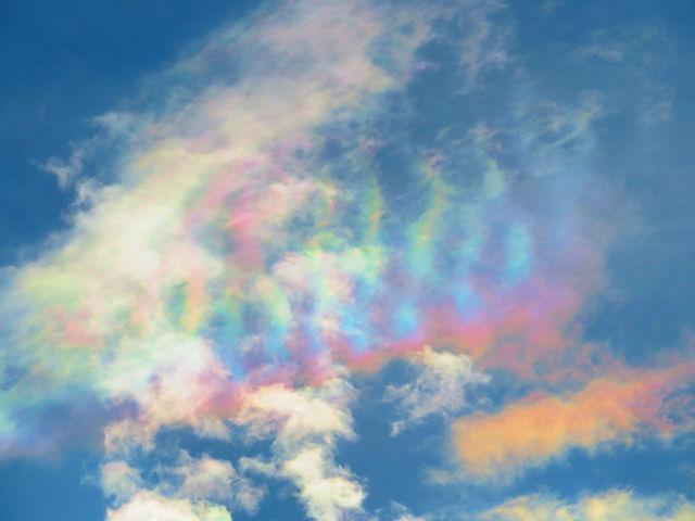 彩雲 撮影の仕方 撮り方