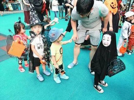 カオナシ 幼稚園 仮装