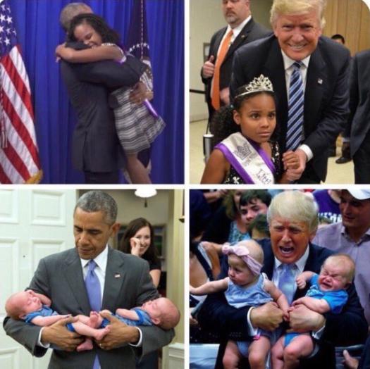 トランプ オバマ 違い 比較