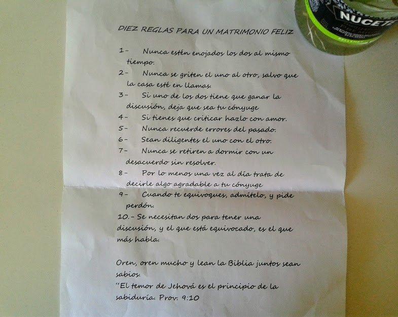 幸せな結婚生活を送るための10のルール