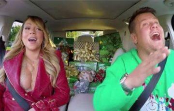 アメリカの有名テレビ番組でマライアキャリーの恋人たちのクリスマスを豪華ゲストで熱唱