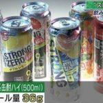 【ストロングゼロ一本はテキーラのショット3.5杯分!】ストロングゼロのアルコール量が凄く高く臓器障害の危険性もあるので注意!