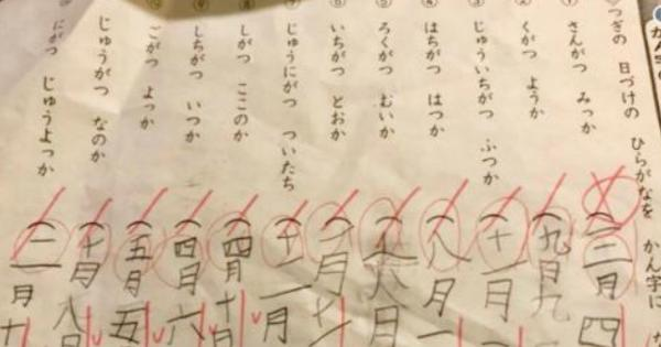 国語のテストで0点だったテスト答案。実は100点をあげてもおかしくない内容だったと話題に