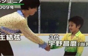 平昌オリンピックで金と銀メダルに輝いた羽生結弦君と宇野昌磨君が幼少の頃から兄弟でありライバルだったことがわかる写真と動画が話題に!