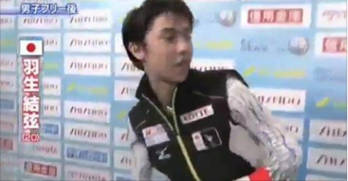 日本国旗に対するリスペクトが感じられる羽生選手の対応が素晴らしいと賞賛の声多数