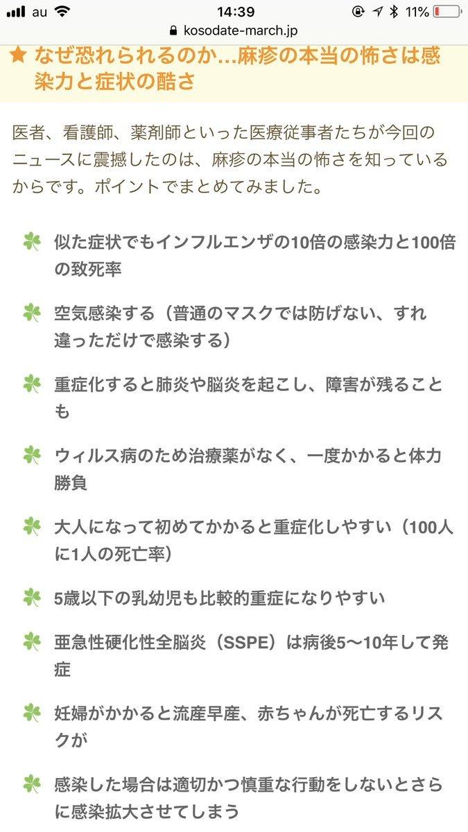 【拡散希望】沖縄を中心に麻疹が流行中!感染力が高く旅行予定がある方は注意してください!