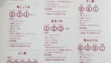 【料理する人は必見!】和食の合わせ調味料の黄金比率が話題に!【レシピ】