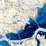 西日本豪雨での水害はハザードマップ通りだった。自分の居住地のハザードマップは把握しとこう!