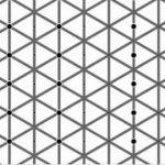 【錯視】左右対称に黒い点がありますが両方見えましたか?