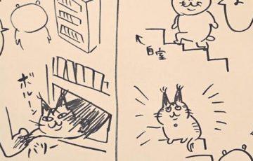 【殺意を持たれててもカワイイ】猟奇的な猫「てつ」との理不尽な戦いを描いた日記がシュールで面白すぎると話題に!【猫あるある】