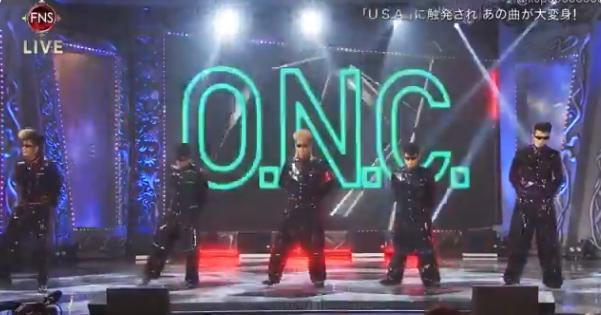 【動画】FNS歌謡祭でUSAに触発された氣志團「ONE NIGHT CARNIVAL」が「O.N.C」に大変身!【マッシュアップ】