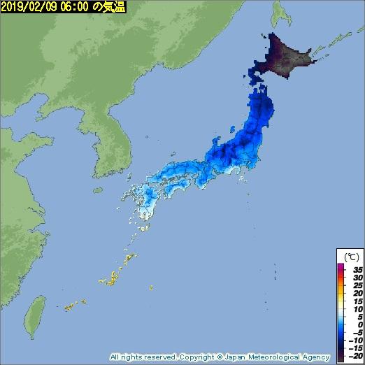 【暗黒大陸?】氷点下30度を突破して記録的な寒さで闇堕ちしてしまう北海道