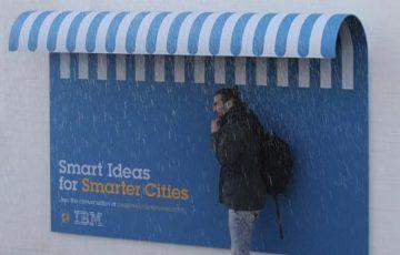 「アイデアで世の中が良くなる」IBMがパリの街中に設置した人の役に立つ広告が話題に!
