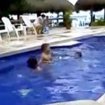 【溺水】子どもがプールで溺れることにいかに気付きにくいかこの動画を見て欲しい