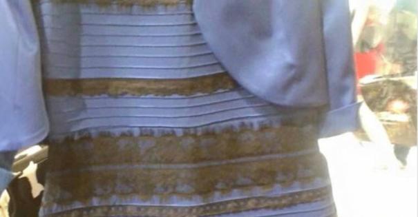 【目の錯覚】このドレス何色と何色に見えますか?