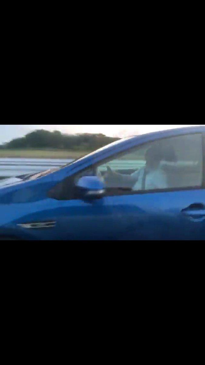 【ドラレコ動画】愛知県知多市新舞子付近で危険な「あおり運転」!信号前で突然ウインカーなしで割り込み、急ブレーキ踏まれて事故寸前!
