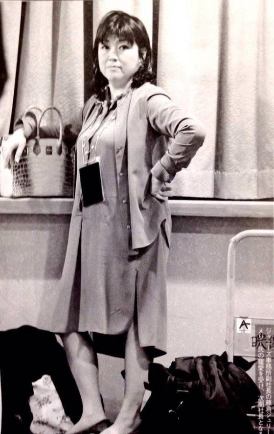 ジャニー喜多川さんの姉であるメリー喜多川藤島メリー泰子(ふじしまやすこ)さんの顔画像(写真)