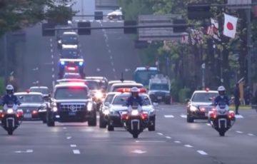 【動画】トランプ大統領の車列に西部警察のテーマを付けたら合いすぎたwww