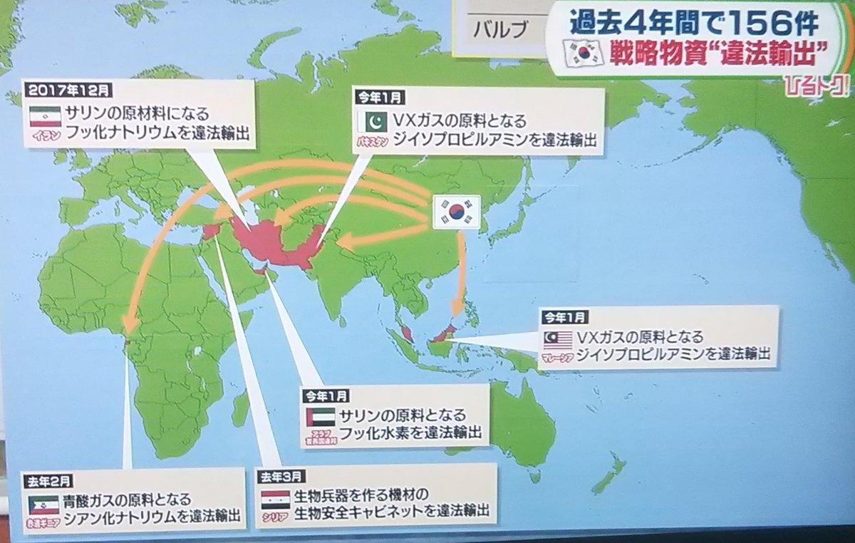 韓国への輸出管理制度の優遇措置「ホワイト国」剥奪がよくわかるまとめ