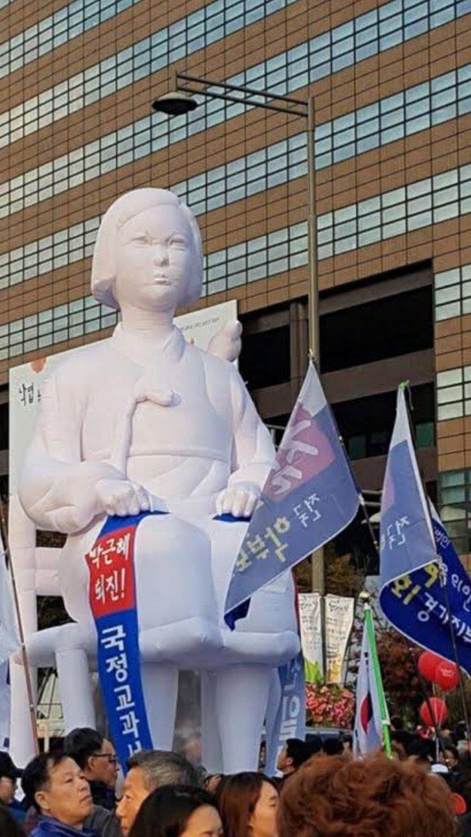 「慰安婦少女像」は従軍慰安婦ではなく実は在韓米軍への抗議目的で制作されたものだった・・・