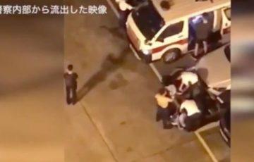 【動画】香港デモで警察が黒Tシャツに着替えデモ隊に化ける瞬間が流出!