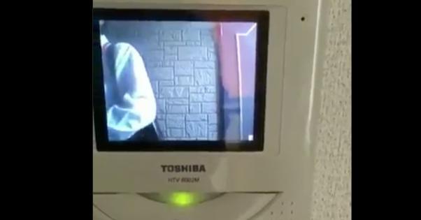 【動画】NHKの集金人がインターホンを50回以上連打!テレビないって言っても嫌がらせを継続