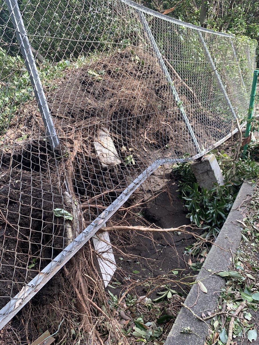 【千葉だけじゃない】台風15号の影響で伊豆大島も断水停電圏外になって建物が倒壊し、高校生は学校に行けてない状況です