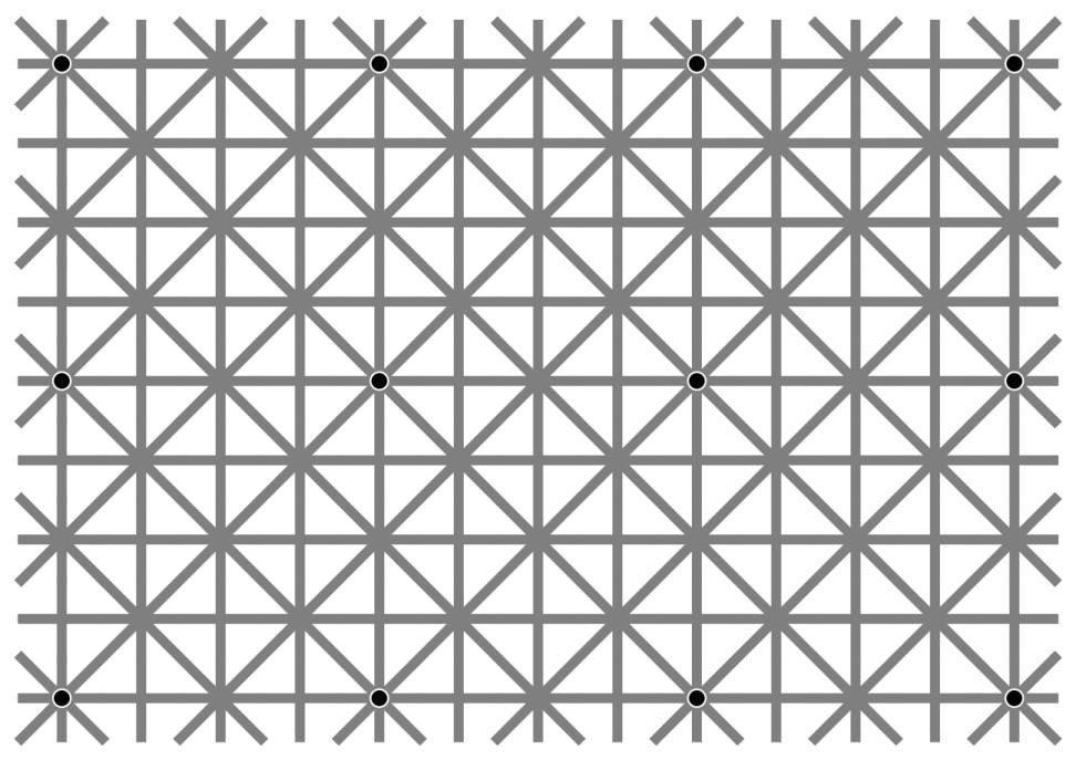 12個の黒い点を全て認識することは出来ないが12個の福山雅治は認識できるという事実が話題にwww