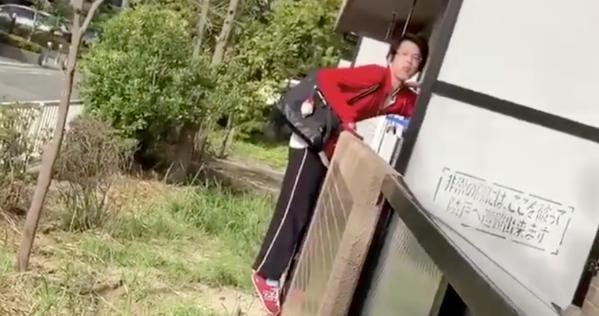 【動画】大阪府茨木市で下着泥棒が映像に捉えられる。犯人は逃走中!?再犯する可能性もあるので注意してください!