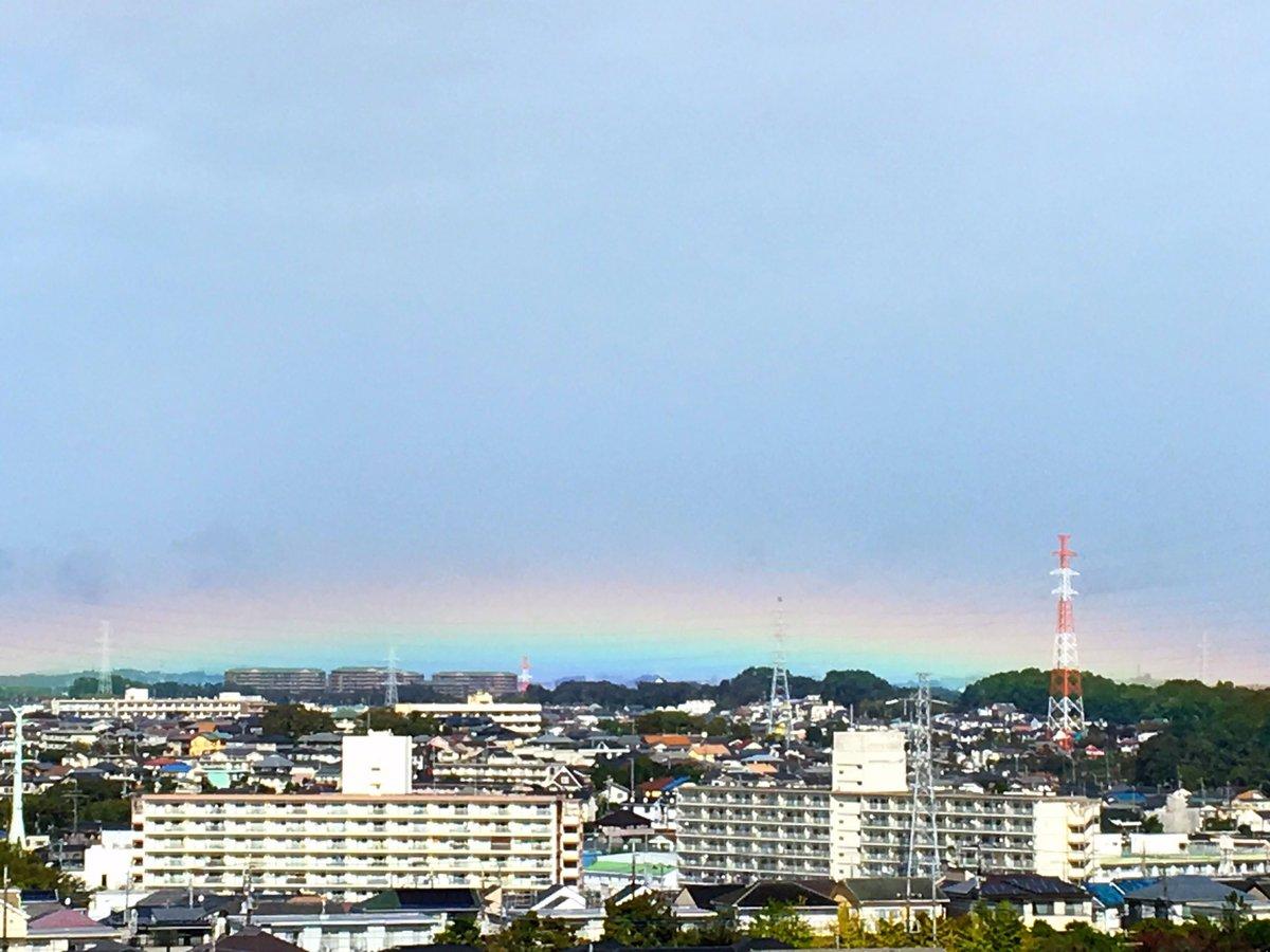 天皇陛下の即位礼正殿の儀の30分前に急に日が差し東京の街が虹色に!ネットの声「リアル天気の子」