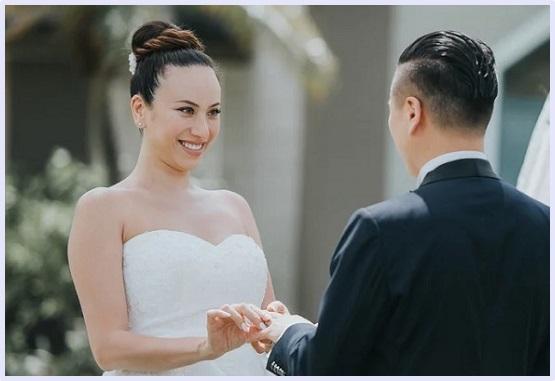 道端アンジェリカさんと夫のキム・ジョンヒ氏の顔画像