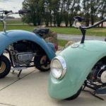 フォルクスワーゲンをリユースしたミニバイクの見た目が可愛すぎると話題に!