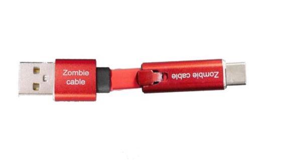 【動画有】断線しても再利用できるスマホ充電ケーブル「ゾンビケーブル」が凄いと話題に!