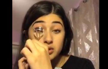 TikTokのメイク動画と思わせて、中国人によるウイグル人の収容所での迫害をホロコーストと訴える17歳のアメリカ人「フェロザ・アジズ」さんに賞賛の声集まる!