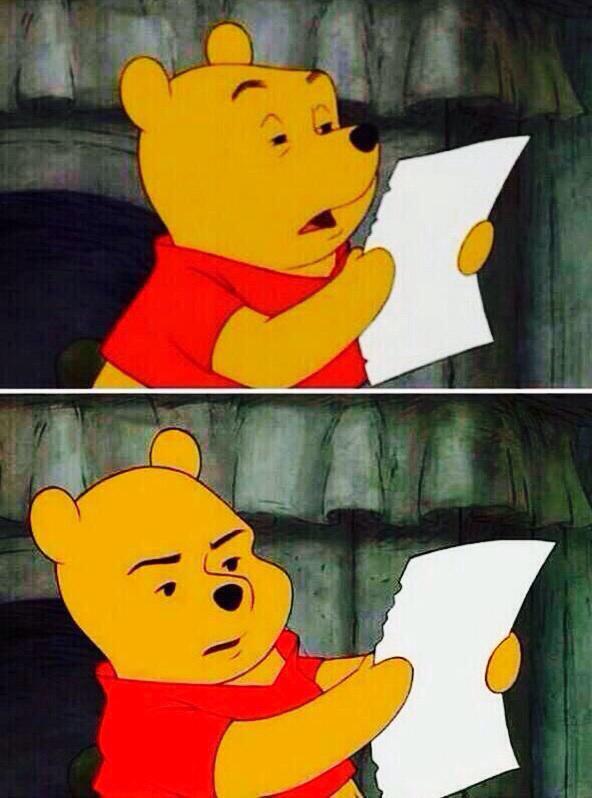 ツイッターで使えるクソリプ指摘画像&煽りネタ画像まとめ:汎用性高いクマのプーさん