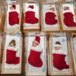 小児病院が12月に退院する赤ちゃんを50年以上クリスマス靴下で家族のもとに送りだす粋な計らい!